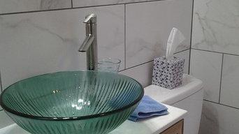Barrett master bath remodel