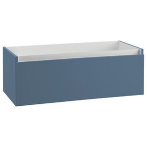 Ibiza Bathroom Vanity Base, Blue