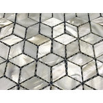 CHOIS - Wholesale Lot 12 Sheets A05 Mother Of Pearl Shell Backsplash Tiles Decals - Note: If you have any concerns that these tiles will not be suitable for your particular application,please buy a sample first to make sure.