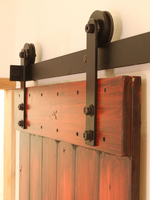 Rustica Hardware   Nylon Barn Door Hardware   Barn Door Hardware