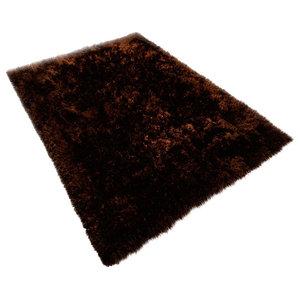 Voluptuous Rug, Dark Brown, 120x180 cm