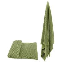 """100% Cotton Throw Blanket 50x60"""" Green"""
