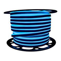 Brilliant 120 Volt SMD LED Neon Strip Light, 148', Blue