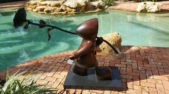 Mackenzie Thorpe Bronze Cleaning and Wax Polishing