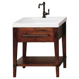 Unique Rustic Bathroom Vanities And Sink Consoles by Ronbow Corp