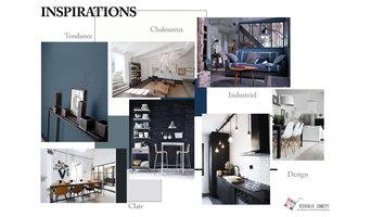 architecte interieur la rochelle igloo isabelle. Black Bedroom Furniture Sets. Home Design Ideas