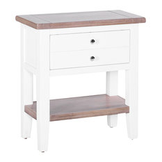 1-Drawer Console Table, Pure White