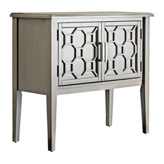 Furniture Of America Noa Accent Chest In Gray
