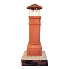 """Cast Classic Lightweight Chimney Pot, 8""""x8"""" Flue"""
