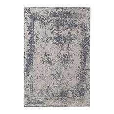 Vintage Handmade Rug, Silver, 200x290 cm