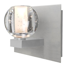 "Besa Lighting 1WF-BOCABB-LED-SN Boca 3 - 5.9"" 5W 1 LED Bath Vanity"