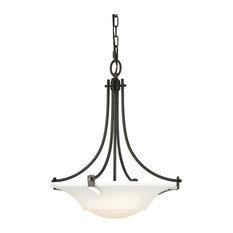 Feiss Barrington Collection 3-Light Uplight Chandelier - Bronze
