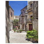 Sadkowski Photography Collection - Castelbuono, Sicily, The Sadkowski Photography Collection - nestled in the hills of the Madonie forest, Sicily;  what a beautiful little town.  Printed to order on archival enhanced matte or premium luster paper with archival ink guaranteed t last for 75 years.  Measuring 24 x 30 including 2 inch border. Shipped in a protective tube. Signed by the artist. Shipping included.  From the exclusive Sadkowski Photography Collection, where every image looks like a painting.