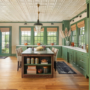 French country kitchen photo in Grand Rapids