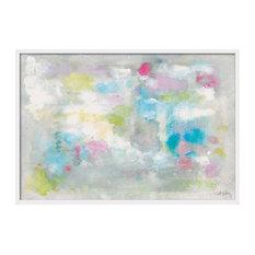 """Pastels"" Art Print, White Frame, 94x64 cm"