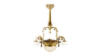 Antiker Viktorianischer Kronleuchter