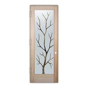 Interior Glass Door Sans Soucie Art Glass Branch Out