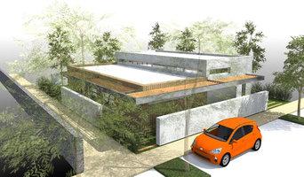 """""""Contemporaine et durable"""" - Concept de maison à toit plat de 110m2"""