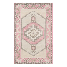 "Anatolia ANA-2 Machine Made Pink Area Rug 7'9""x9'10"""