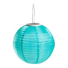"Soji 14"" Illume Lantern, Mint"
