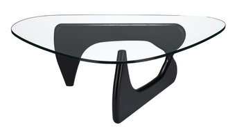Sculpture Coffee Table in Black