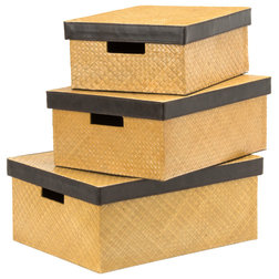 Rustic Storage Boxes by Premier Housewares