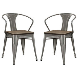 Industrial Dining Chairs by Wholesale Living