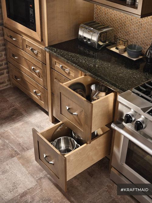 KraftMaid: Base Kitchen Cabinet Pots U0026 Pans Storage   Kitchen Cabinetry