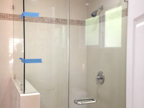 Install A Towel Hookholder To Unframed Shower Glass