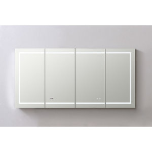 Led Mirror Medicine Cabinet With, Lighted Medicine Cabinet With Defogger