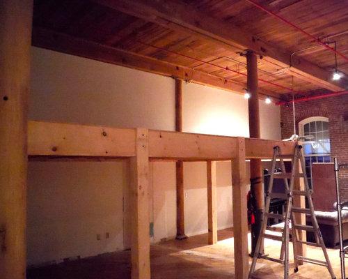 Loft Addition With Spiral Staircase Germantown Nashville Tn