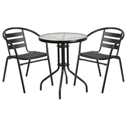 Contemporary Outdoor Pub And Bistro Sets by Homesquare
