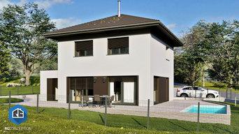 Plan de maison traditionnel Agathe 95