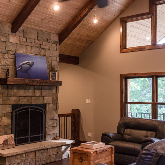 Meadows Rustic Lodge Style Home-Interior