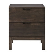 Hudson Two-drawer Bedside Table