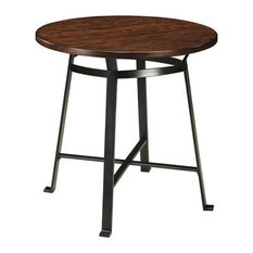 Industrial Round Pub And Bistro Tables