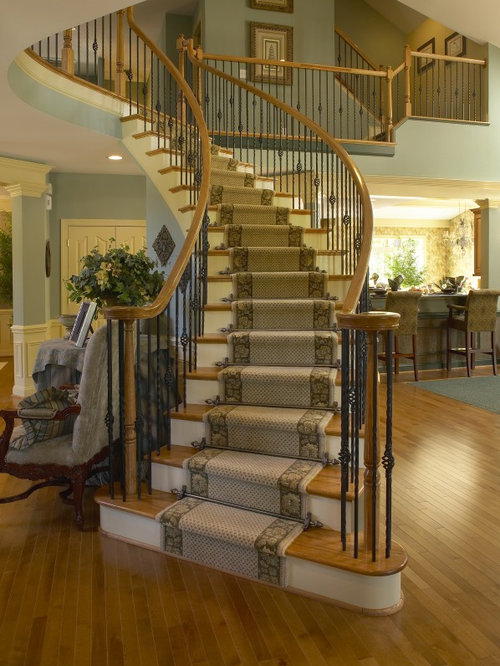 Great Traditional Spiral Staircase Idea In Other