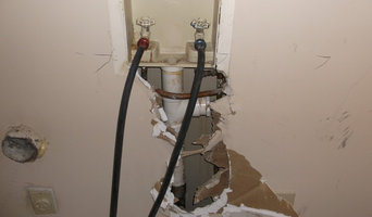 Mold and water damage caused by small leak
