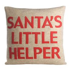 Santa's Little Helper, Oatmeal/Red
