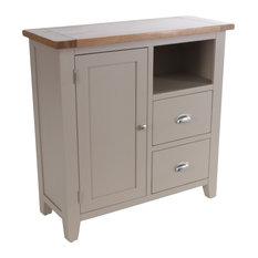 2-Drawer Organiser Cabinet, Putty