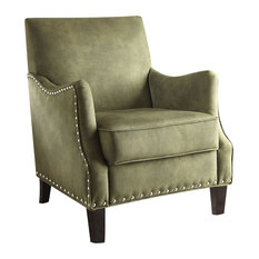 Sinai Accent Chair, Olive