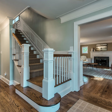 Staircase - Traditional Elegance With a Pinch of Industrial