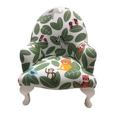 Little Robyn Armchair, Jungle Green