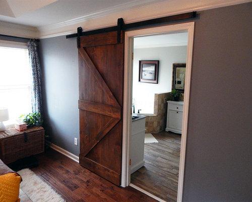 Single Barn Door Installation   Marietta, GA   2015   Interior Doors