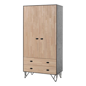 William 2-Door Wardrobe