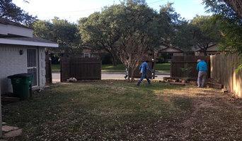 Back yard demo
