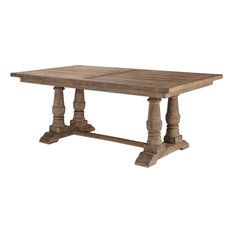 Most Popular Farmhouse Dining Room Tables For Houzz - Vermont farm table reviews