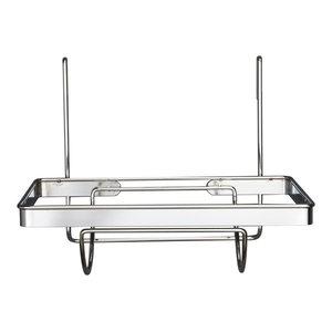Metro Chrome Kitchen Roll Holder for Utensil Rails