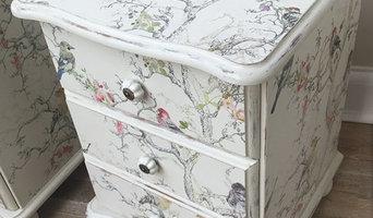 Birdie Farmhouse Style Bedside Tables