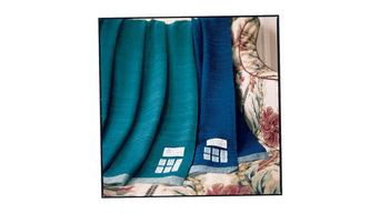 summer weight indigo blanket